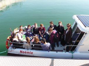 Visite de Lyon en bateau solaire !